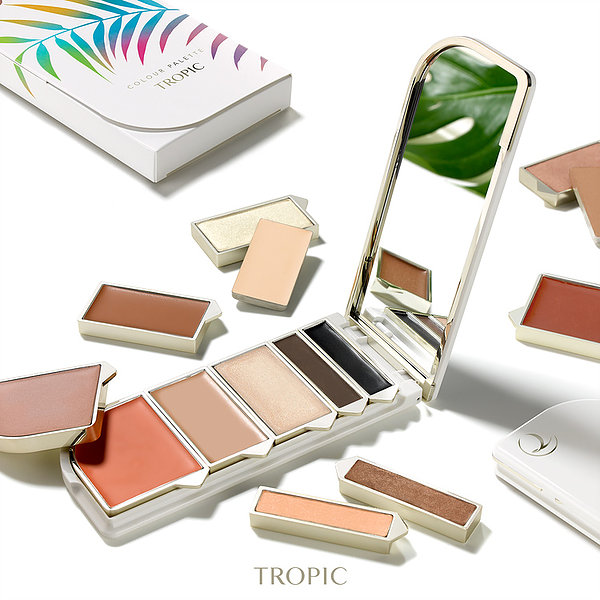 Personalised – Refillable – Recyclable – Sustainable Mineral Make up from Tropic