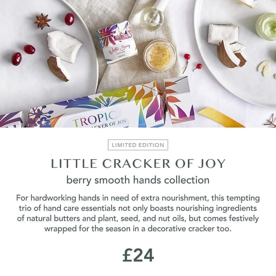 christmas cracker 2020 berry smooth hands