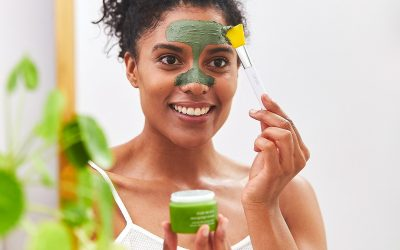 The Best Facial Mask for Acne – Tropic's Clear Skin blemish-fighting mask